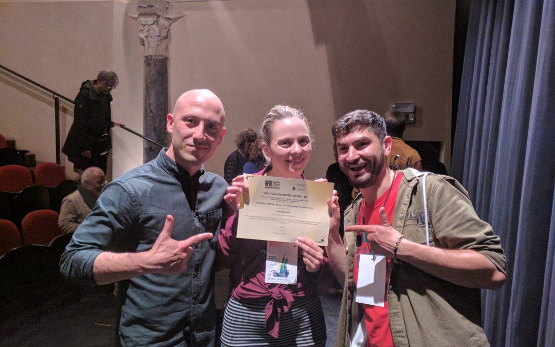 Rautalampi premiato al Festival Presente Futuro '19!